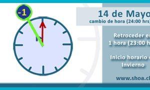 Desde la 0 00 horas del domingo 15 tendremos horario de for Horario ministerio del interior