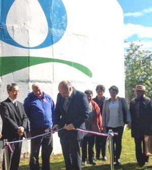 Aguas araucan a inaugur nuevo estanque de agua potable en for Estanque de agua potable easy